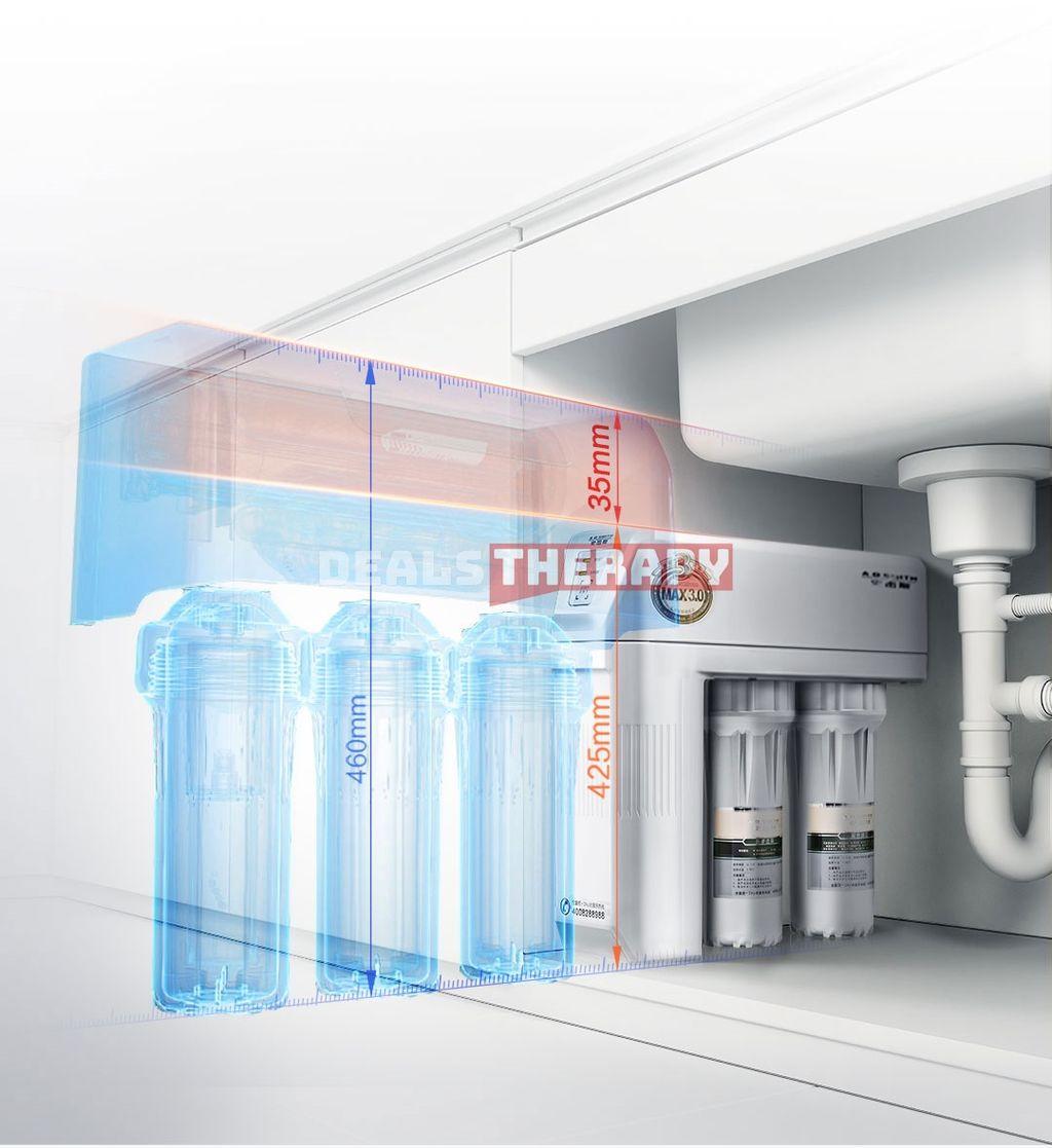 A.O. Smith Mini Body Water Purifier Gray 1L/min Water Flow