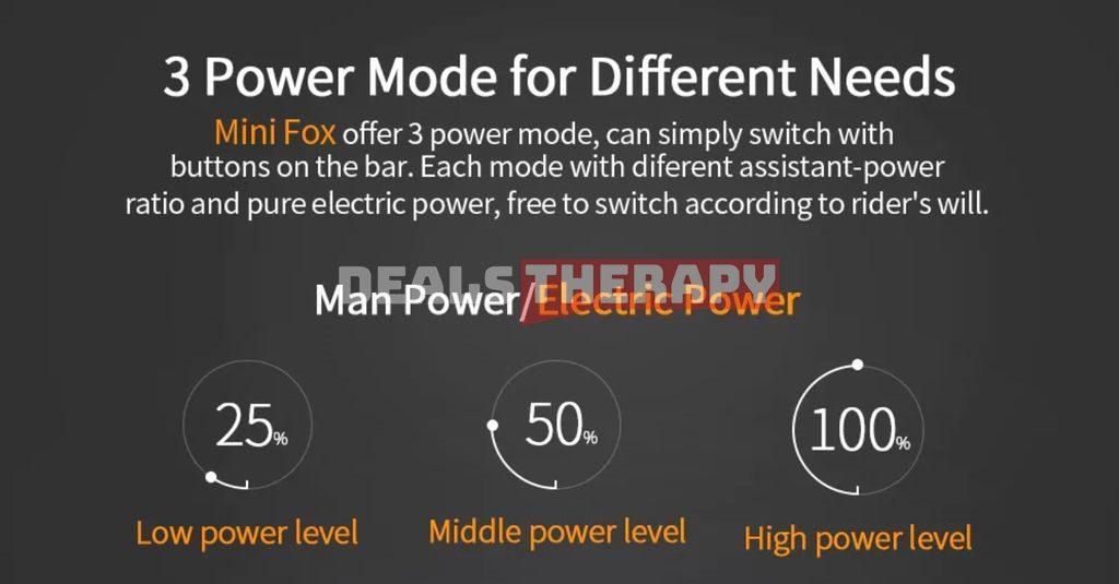 ENGWE eBike Mini Fox