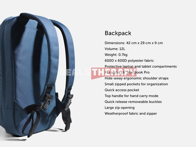 ODA - Hop: 2-in-1 Modular Bag and Backpack
