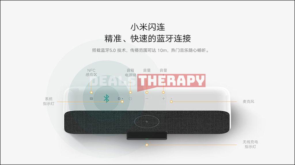 Xiaomi 2 in 1 Wireless Speaker Charger 30W MAX