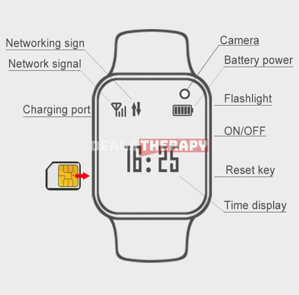 Xiaomi Little Genius SmartWatch Z6