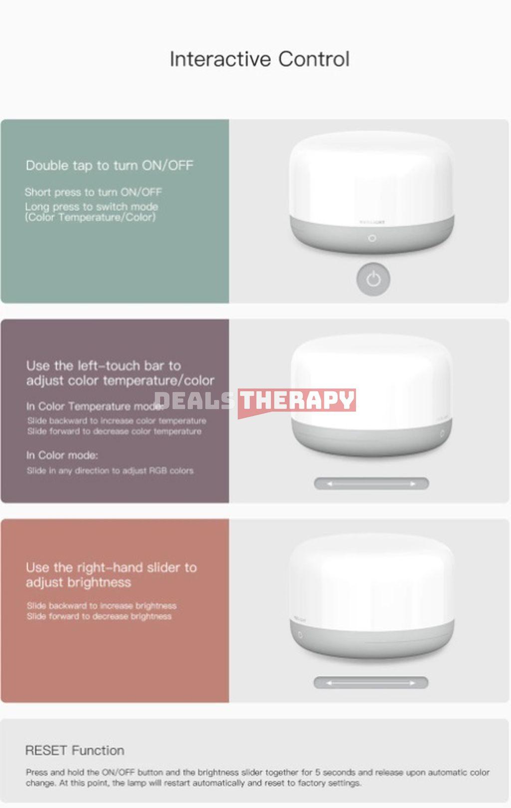 Xiaomi Yeelight LED Bedside Lamp D2