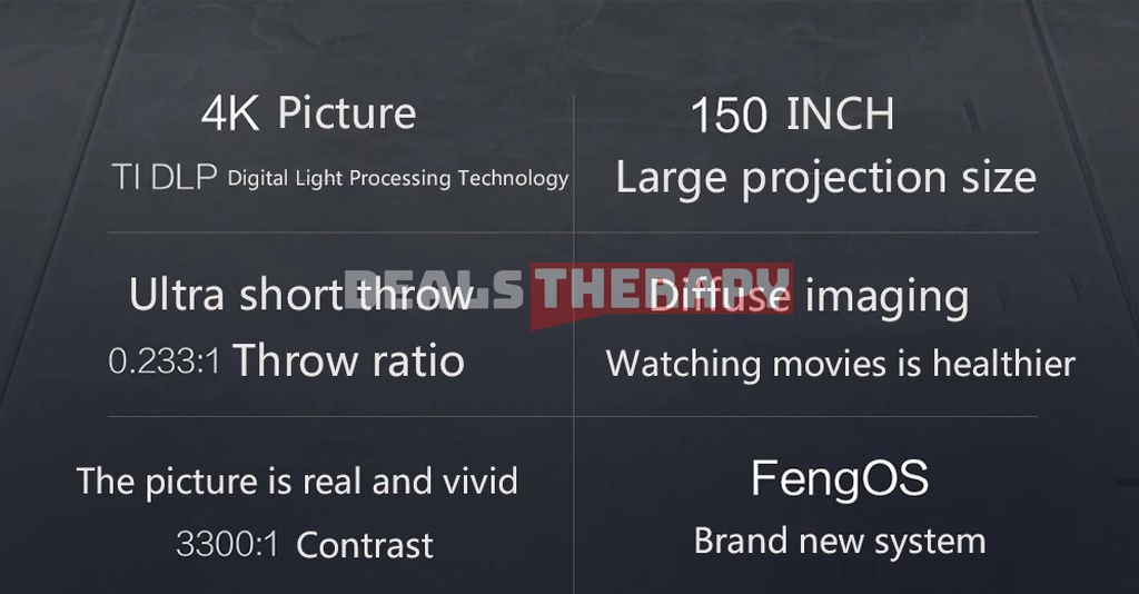 Xiaomi Fengmi 4K Cinema Pro