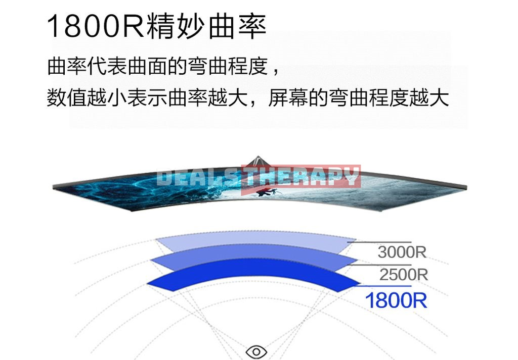 Xiaomi Ningmei Curved Display 27 inches