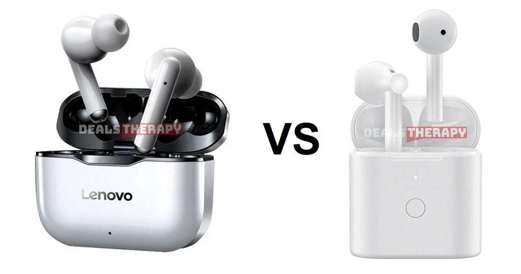 Lenovo LP1 vs QCY T7