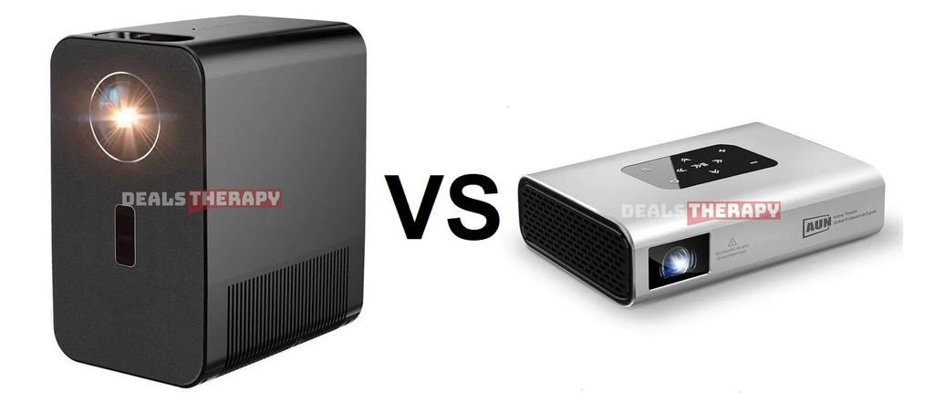 AUN AKEY7 vs AUN X5: Compare 2020 New Full HD Projectors