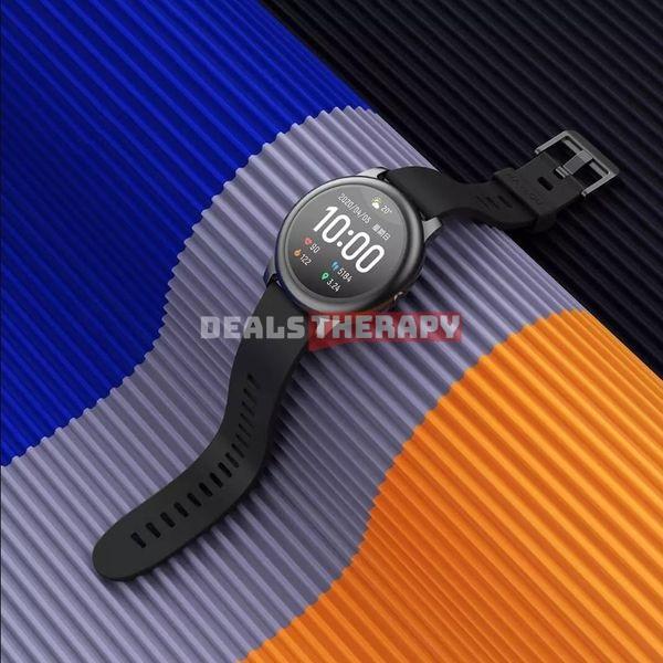 Haylou Solar Full Round Screen Wristband - Banggood