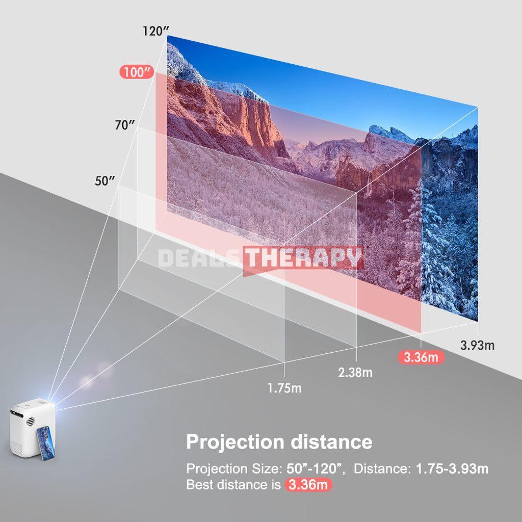 Rigal RD855 Mini Projector