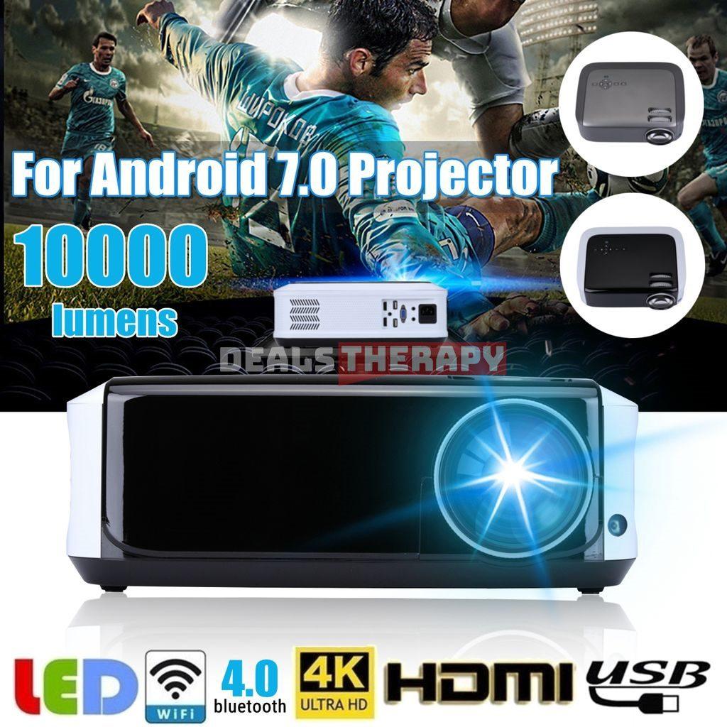 U68 Mini LED WIFI Projector