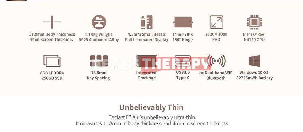 Teclast F7 Air