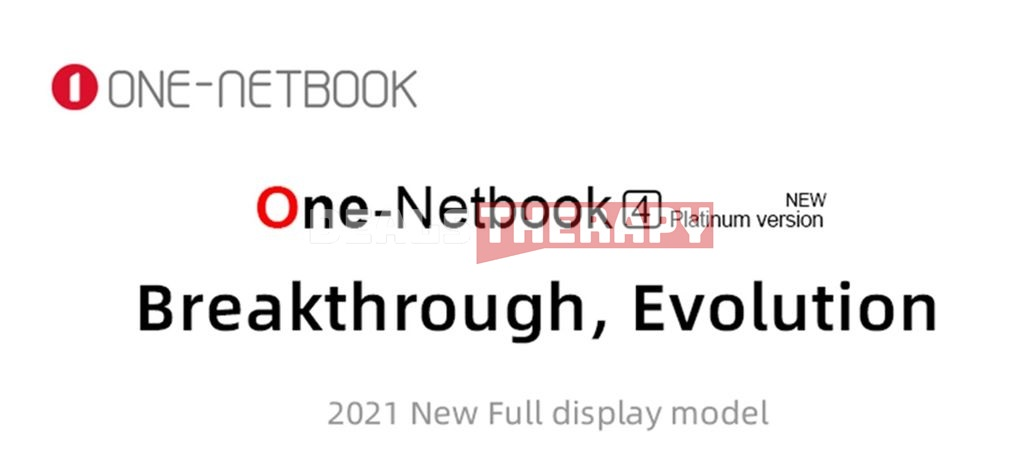 One Netbook One Mix 4 Platinum