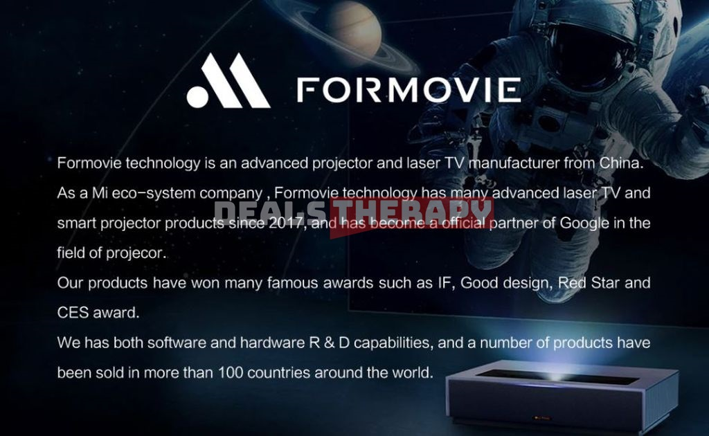 Xiaomi Formovie Laser TV 4K Cinema