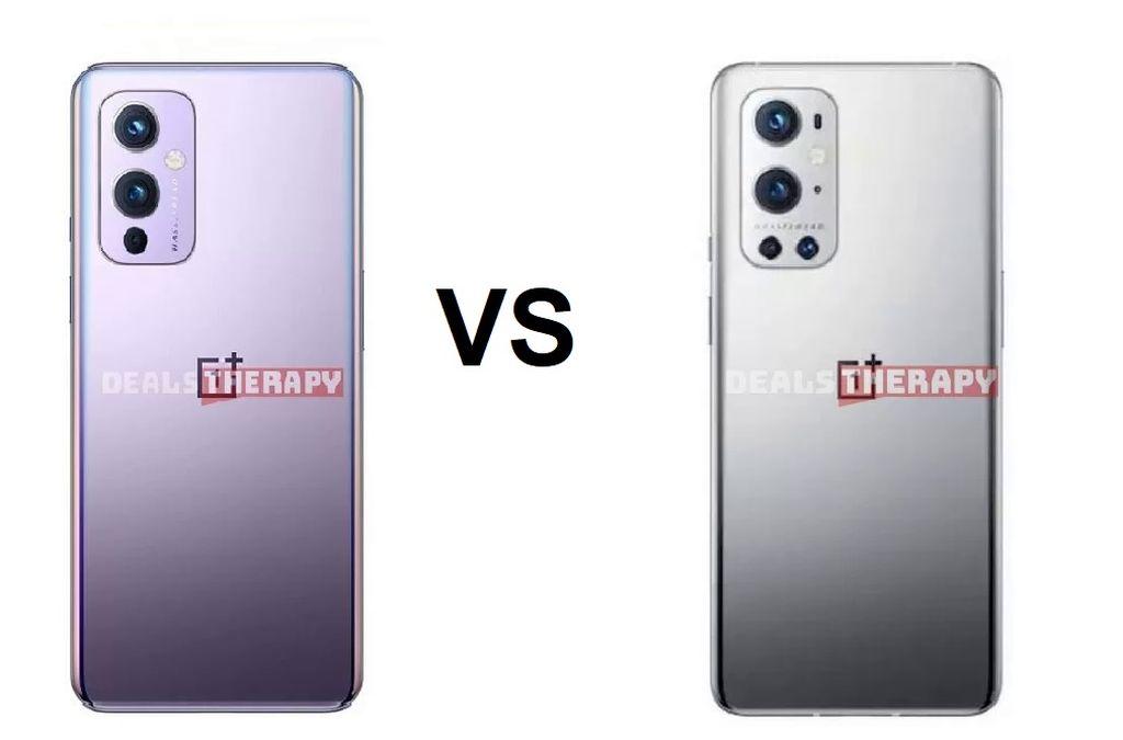 OnePlus 9 vs OnePlus 9 P