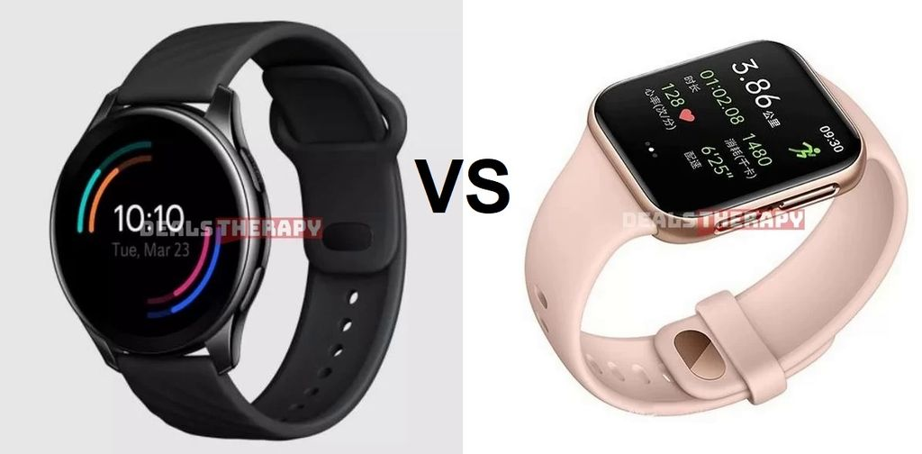 OnePlus Watch vs OPPO Watch