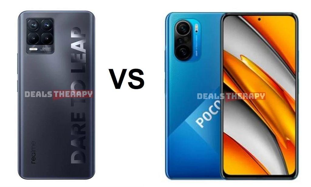 Realme 8 Pro vs Xiaomi Poco F3