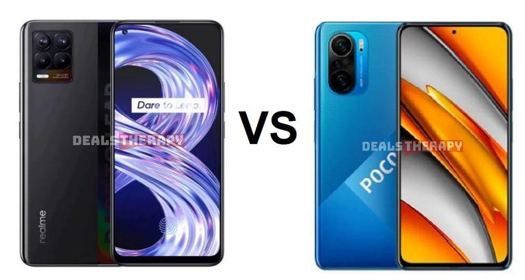 Realme 8 vs Xiaomi Poco F3