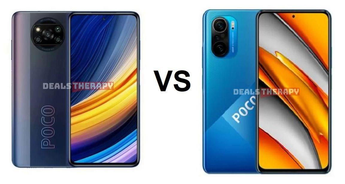 Xiaomi Poco X3 Pro vs Xiaomi Poco F3
