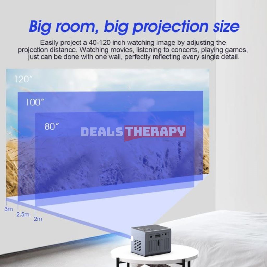 C50 Mini Projector