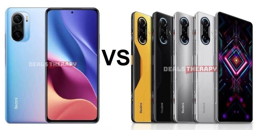Xiaomi Redmi K40 Pro vs Xiaomi Redmi K40 Gaming Edition