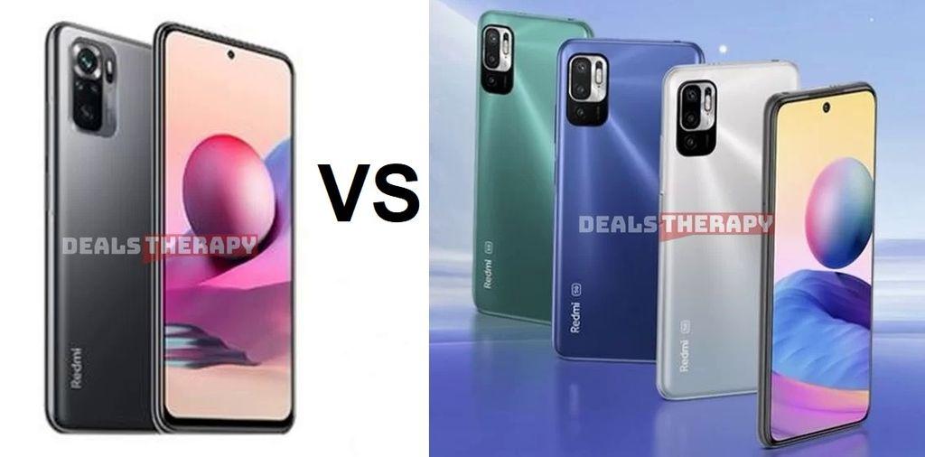Xiaomi Redmi Note 10S vs Xiaomi Redmi Note 10 5G