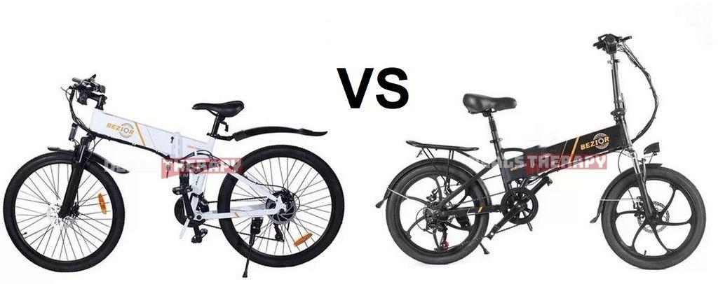 BEZIOR M26 vs BEZIOR M20