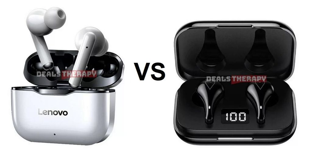 Lenovo LP1 vs Lenovo LivePods LP3