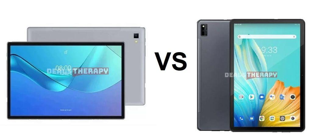Ulefone Tab A7 vs Blackview Tab 10