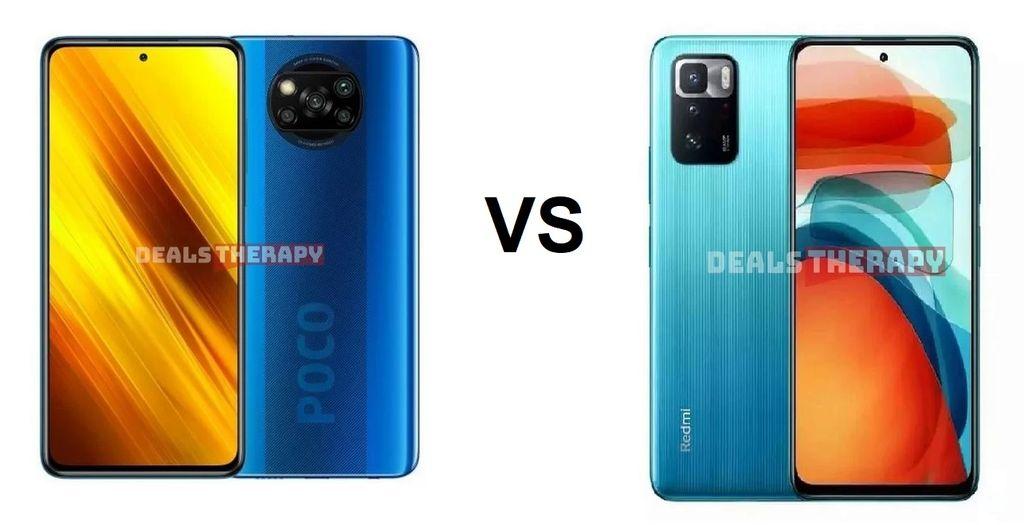 Xiaomi Poco X3 NFC vs Xiaomi Poco X3 GT