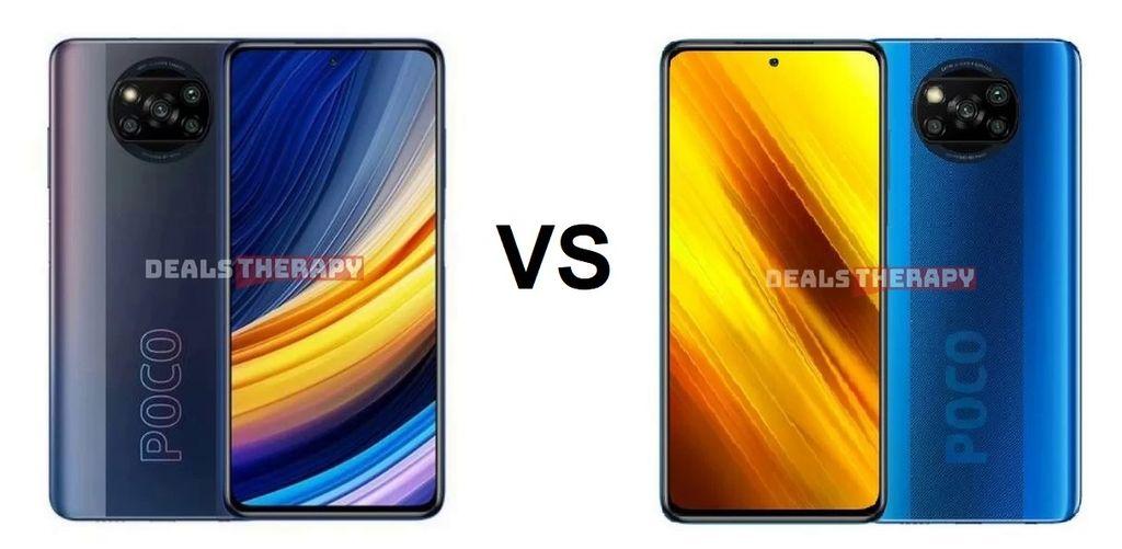 Xiaomi Poco X3 Pro vs Xiaomi Poco X3 GT