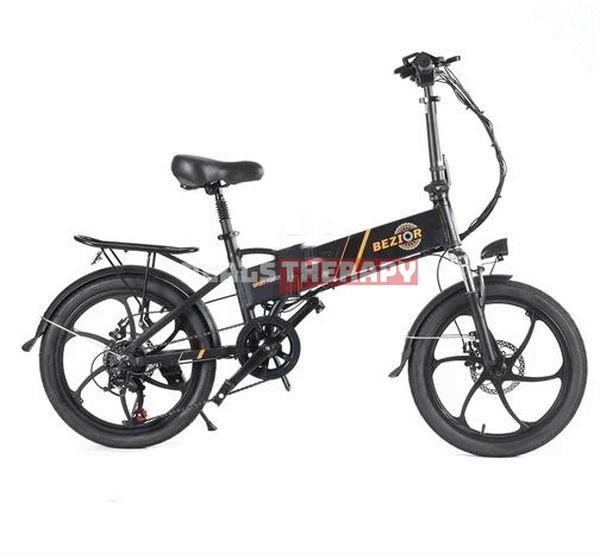 BEZIOR M20 Folding Electric Bike - Geekbuying