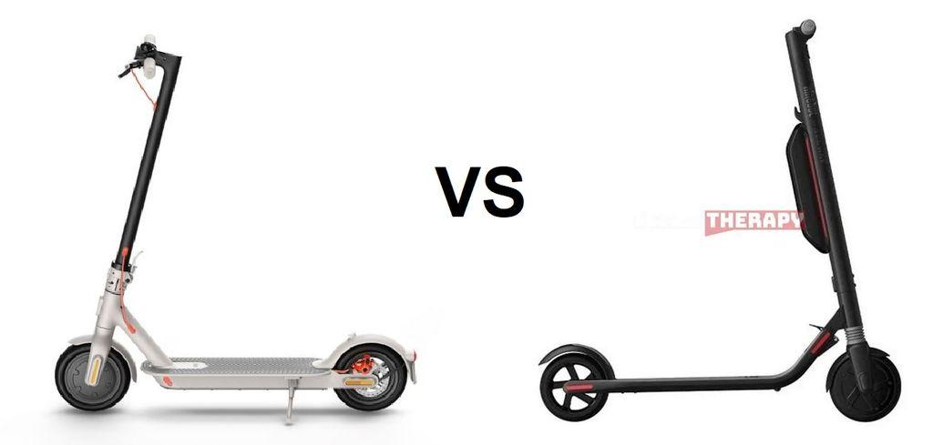 Xiaomi Mi Electric Scooter 3 vs Ninebot ES4