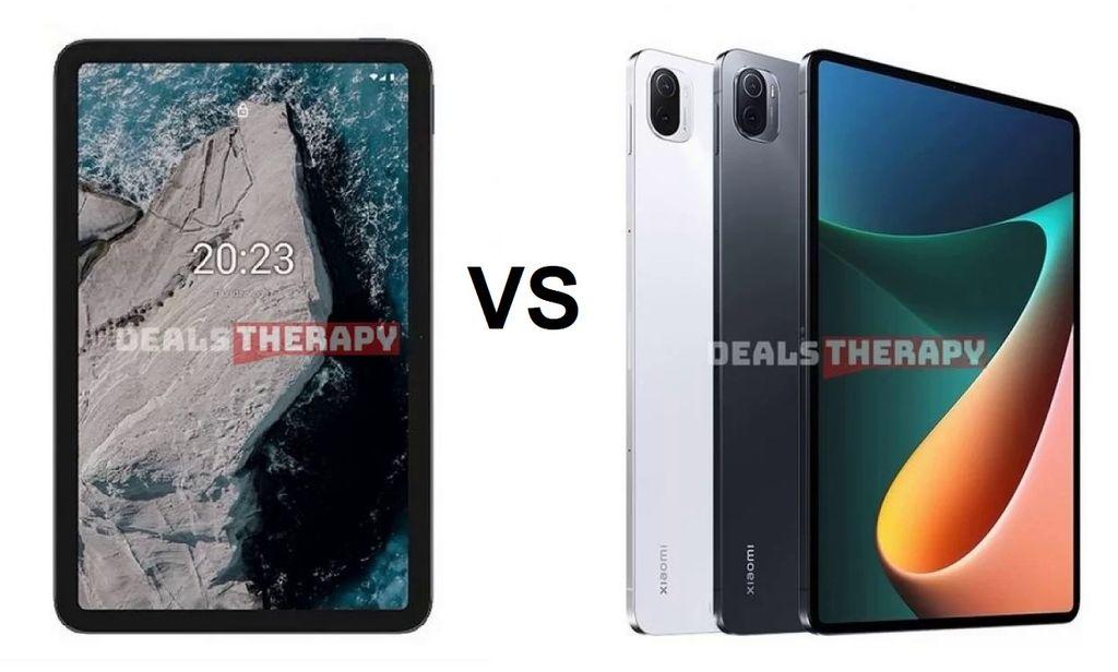 Nokia T20 vs Xiaomi Mi Pad 5 Pro