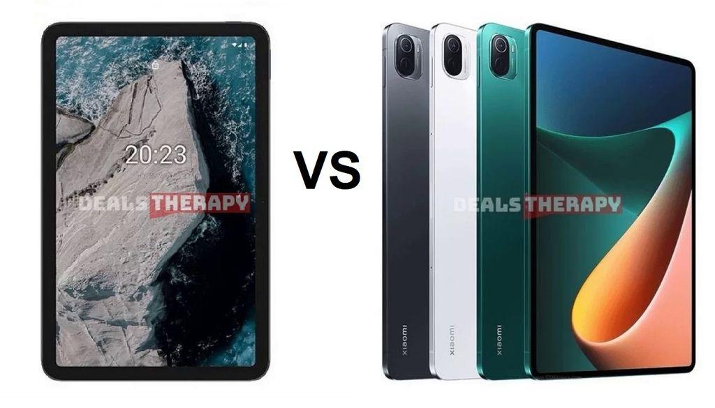 Nokia T20 vs Xiaomi Mi Pad 5
